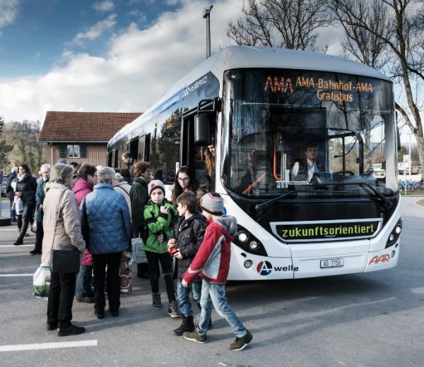 Gratis-Shuttlebus
